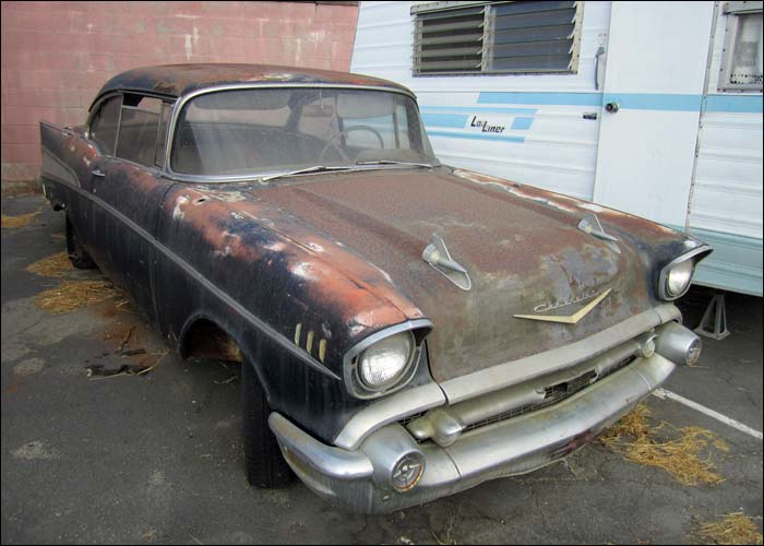 Honest Advice Needed On This 57 Chevy Canadian Poncho